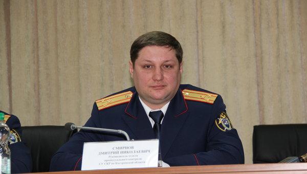 Представитель костромского СУСКР Дмитрий Смирнов, событийное фото