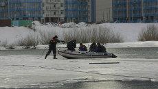 Рыбаков спасли с оторвавшейся льдины. Архивное фото