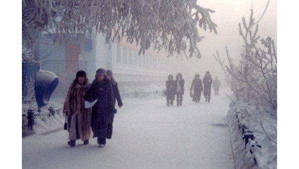Жители Якутии ждут, когда у быка холода отвалится первый рог