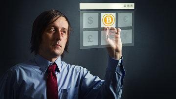 Электронная валюта биткоин (bitcoin), архивное фото