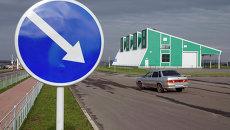 Таможенный пункт пропуска Щебекино на российско-украинской границе. Архивное фоо