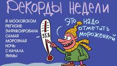 Итоги недели в карикатурах Сергея Елкина. 27.01.2014 - 31.01.2014