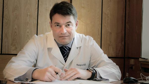 Директор Московского научно-исследовательского онкологического института имени Герцена,  профессор Андрей Каприн