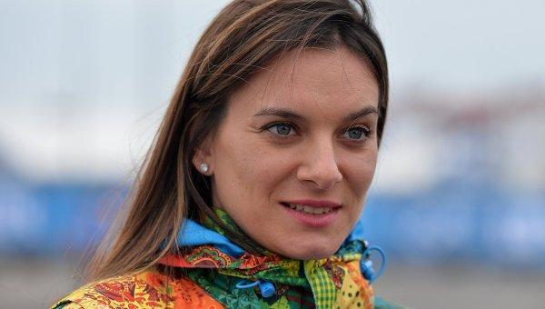 Двукратная олимпийская чемпионка и мэр олимпийской деревни Елена Исинбаева. Архивное фото