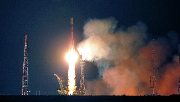 Запуск транспортного грузового корабля Прогресс к МКС. Архивное фото