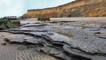Древние породы на берегу Хаписберга