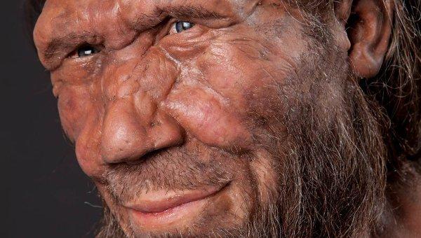 Модель неандертальца