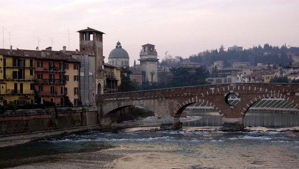 Итальянская Верона. Архивное фото