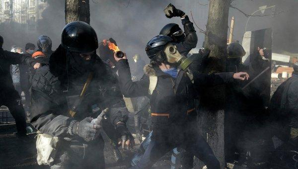 Беспорядки в Киеве. Фото с места событий