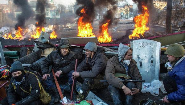 Столкновения в Киеве в феврале 2014 года. Архивное фото