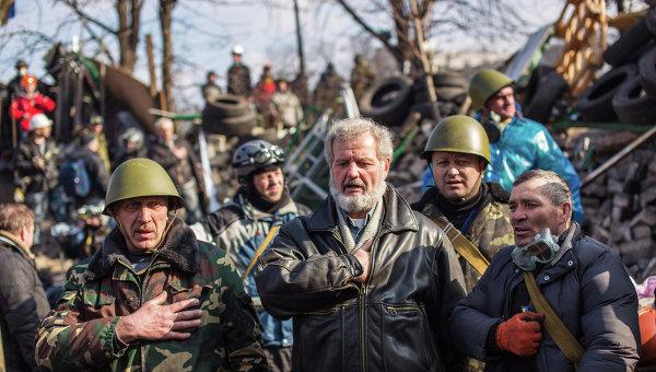 Развитие ситуации в Киеве, архивное фото
