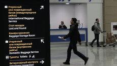 Аэропорт Пулково в Петербурге, архивное фото