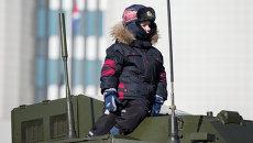 День защитника Отечества во Владивостоке