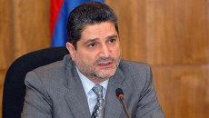 Премьер-министр республики Армения Тигран Саркисян. Архив
