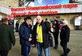 Дуэт Percussion project из Северска на вокзале Олимпиады в Сочи