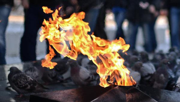 Вечный огонь. Архивное фото
