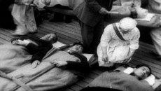 Взрыв американской водородной бомбы на атолле Бикини 1 марта 1954 года