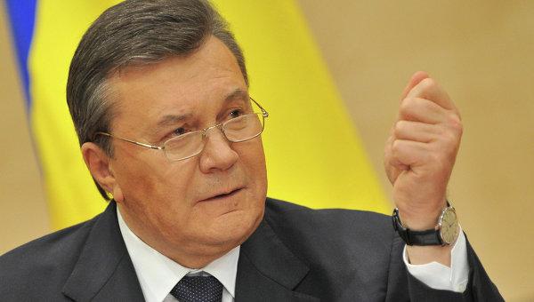 Отстраненный от должности президента Украины Виктор Янукович, архивное фото