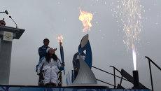 От Сочи до Магадана и обратно: путешествие паралимпийского огня по стране