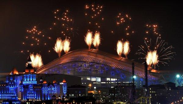 Церемония открытия XI зимних Паралимпийских игр. Фото с места событий
