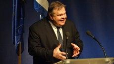 Министр иностранных дел Греции Эвангелос Венизелос