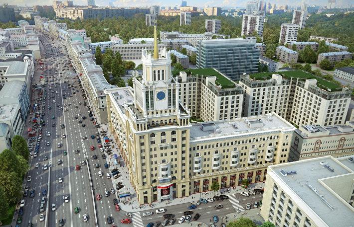 Элитный жилой квартал Сады Пекина