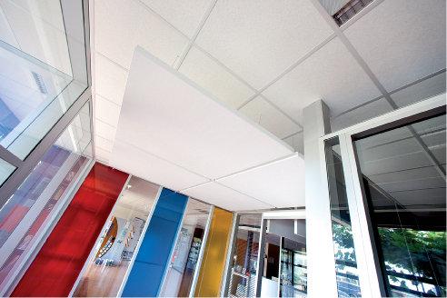 Акустические потолки: стильно, эстетично, технологично