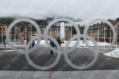 Олимпийская деревня в Уистлере
