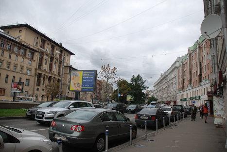 Никитский бульвар, Москва