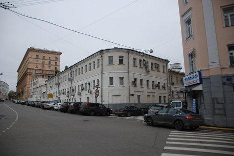 Торговые палаты, построенные генерал-майором Николаем Хитрово