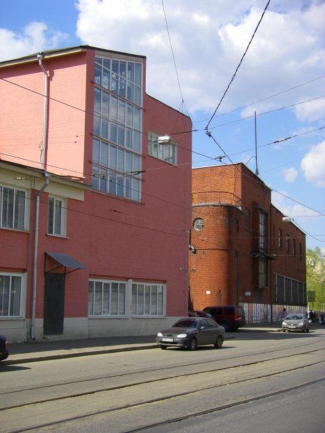 Бывшее здание ЦАГИ