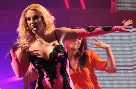 Концерт американской певицы Бритни Спирс в Санкт-Петербурге