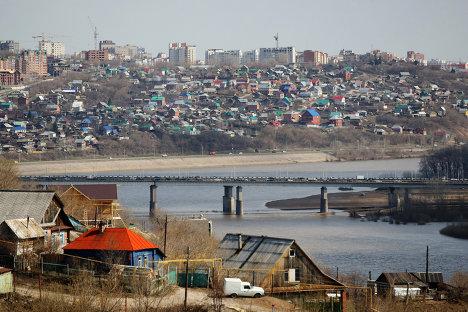 Города России. Уфа