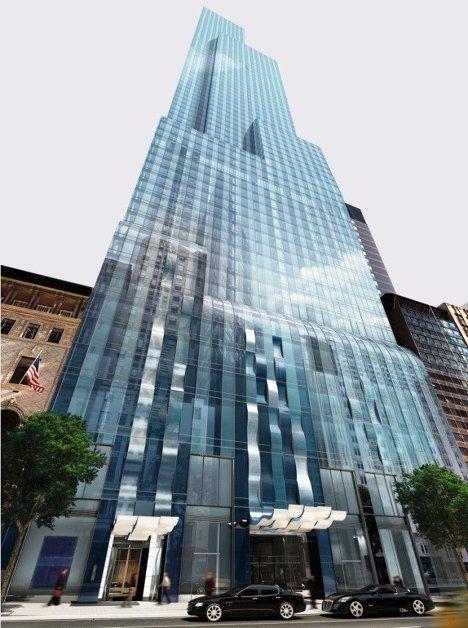 Проект One57 в Нью-Йорке