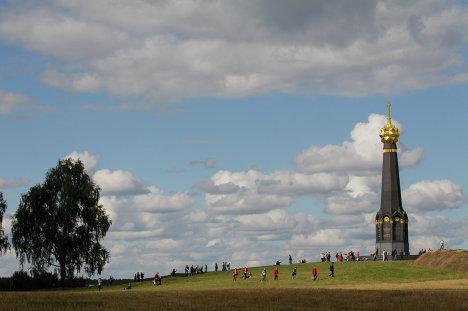 Монумент героям Бородинского сражения 1812 год