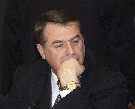 Министр здравоохранения Российской Федерации Юрий Шевченко