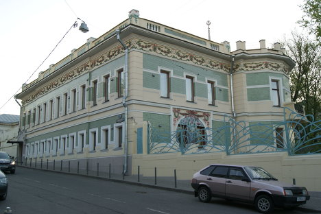 Особняк в центре Москвы