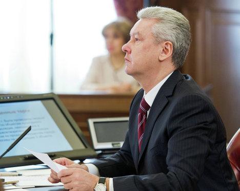 Мэр Москвы С.Собянин
