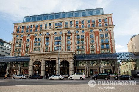 Гостиница Ритц Карлтон на Тверской