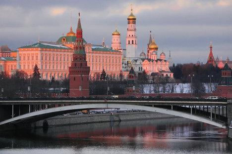 Вид на Каменный мост и Кремль