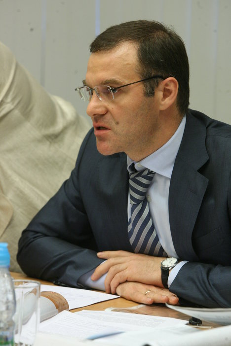 Министр по долевому строительству Московской области Александр Коган