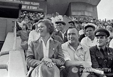Евдокия Виноградова и Александр Бусыгин