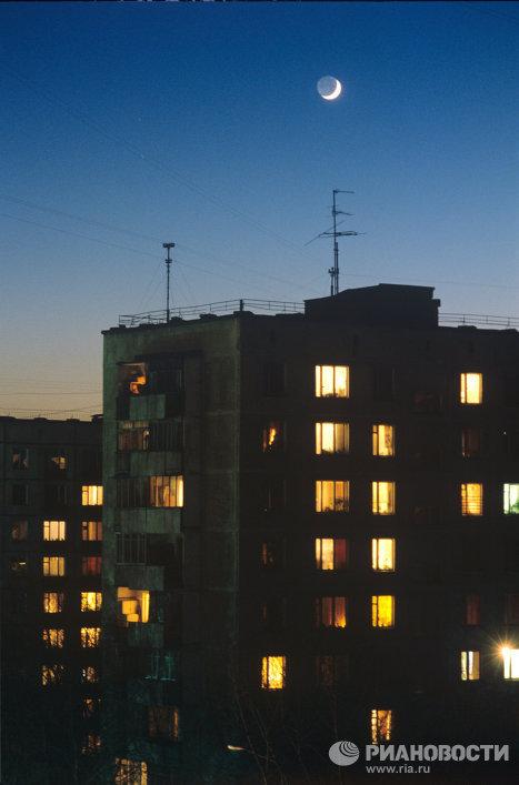 Жилые дома района Сокольники