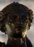 Монтаж скульптуры Богиня Победы на Триумфальной арке