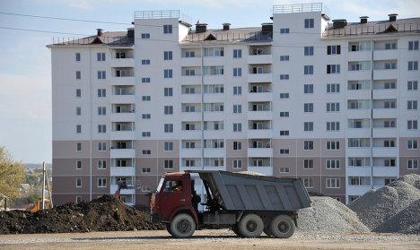 Новый глава Минрегиона РФ Игорь Слюняев в Крымске