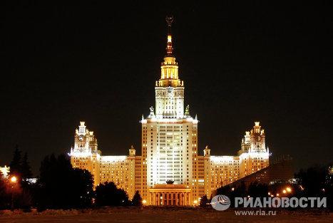 Экологическая акция Час Земли прошла в Москве