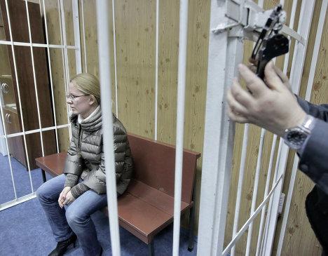 Рассмотрение ходатайства об аресте Екатерины Сметановой