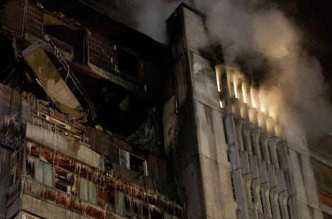 Взрыв бытового газа в жилом доме в Томске