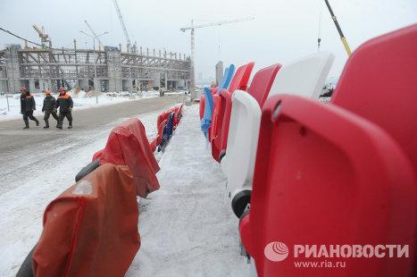 Строительство стадиона «Спартак»