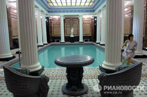Сандуновские бани на улице Неглинной